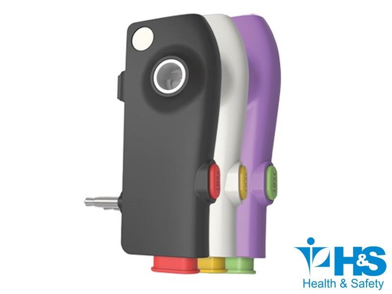 Aparelhos-Pessoais-Bafometro App Click - Uso no celular - Cor (roxo)